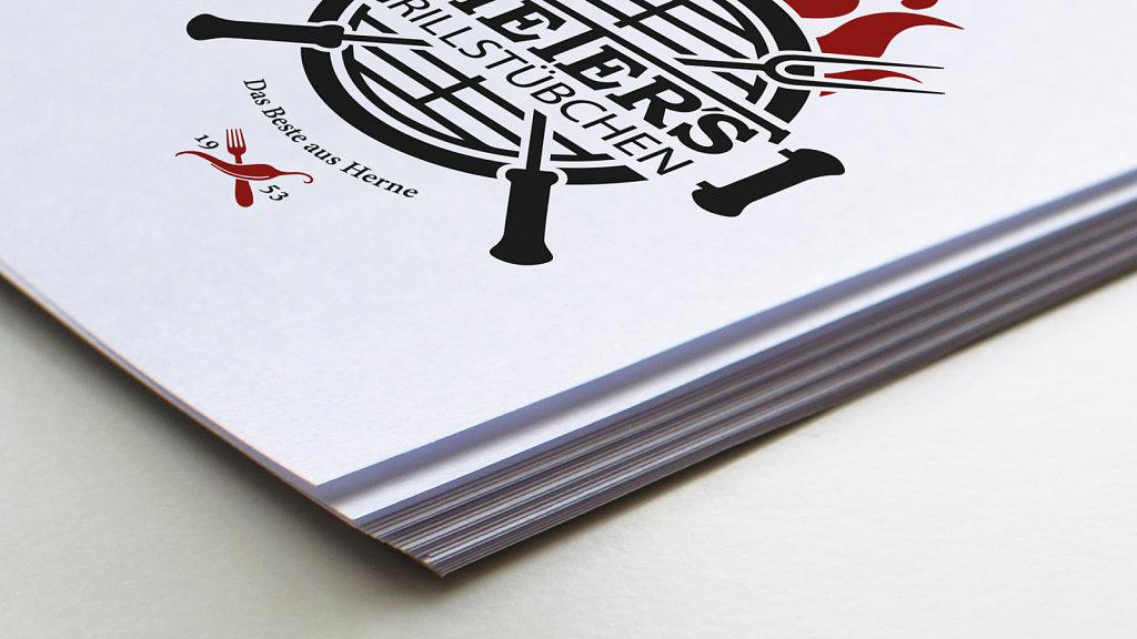 Dieters Grillstübchen - Logodesign