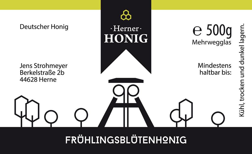 StrohmeyerJens Etikett HernerHonig Fruehlingsbluetenhonig 4C 201
